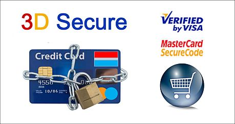 3D-Secure (Verified by VISA/MasterCard SecureCode)